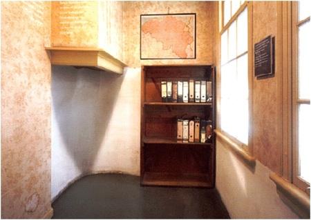 Anne Frank Secret Doorway