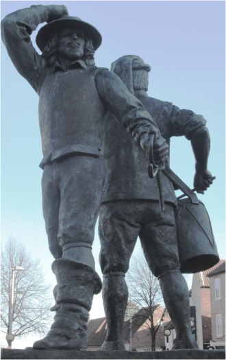 Newark Civil War Statue
