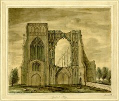 Croyland-Abbey-early-18c