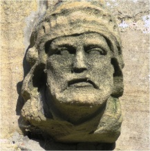 Donington Church Face