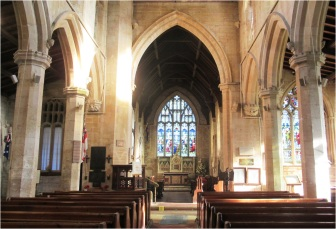 Donington Church Interior