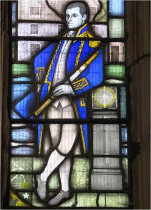 Matthew Flinders Stained Glass Window