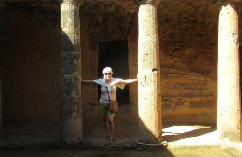Tombs Cyprus Paphos 02