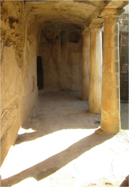 Tombs Cyprus Paphos 03