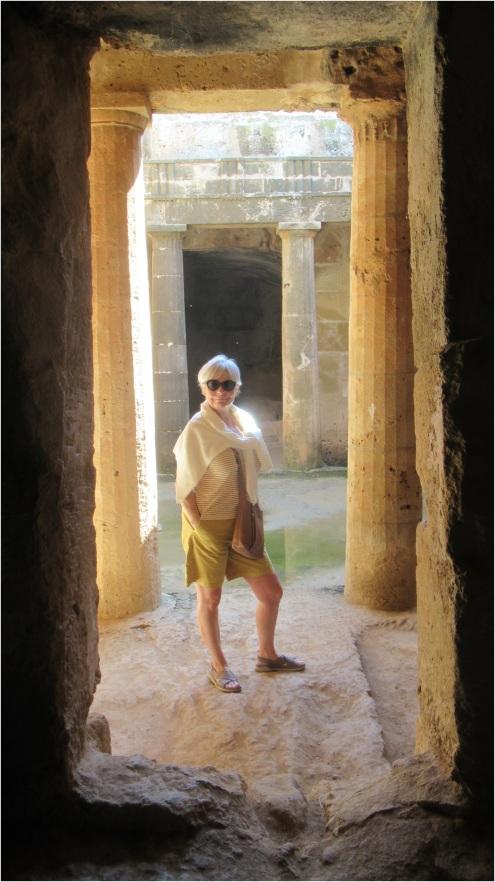 Tombs Cyprus Paphos 04