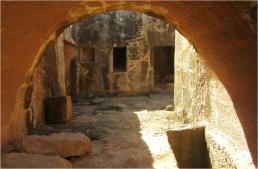 Tombs Cyprus Paphos 08