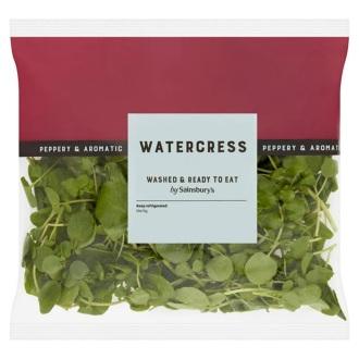 Bagged watercress