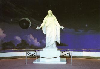 035a Mormon Statue