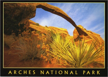 Arches NP Postcard