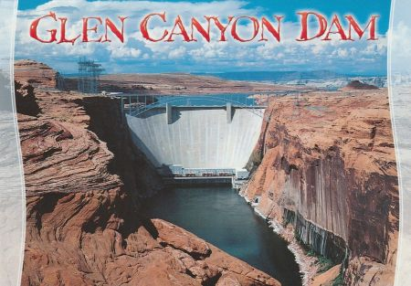 Glen Canyon Dam Postcard 02