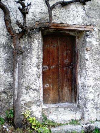 Hallstatt Door