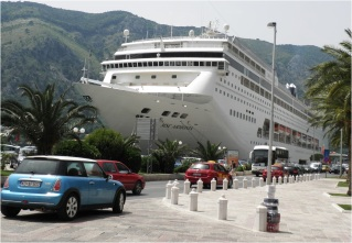 Kotor Cruise Ship