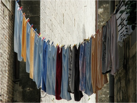 Kotor Washing Line