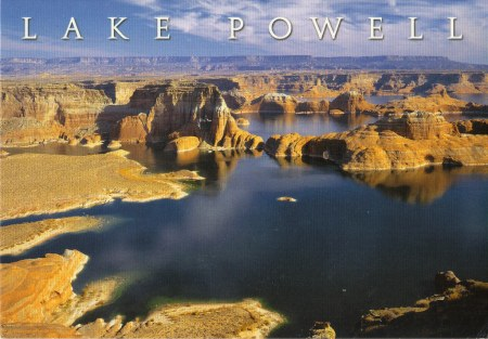 Lake Powell Post card