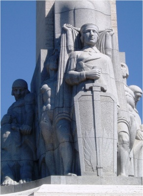Riga Freedom Monument Base
