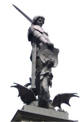 Riga St George and Dragon